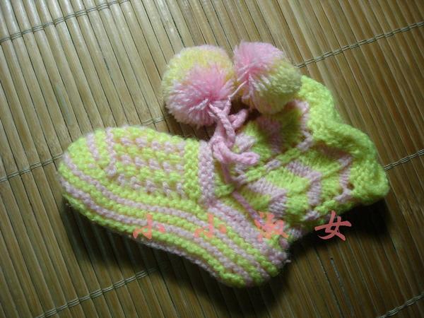 小袜也是别人送的 我织找不到了觉得更好