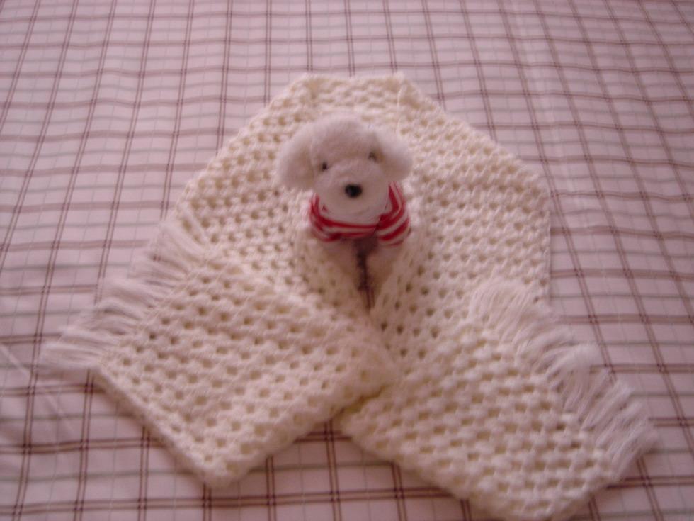 好可爱的围巾