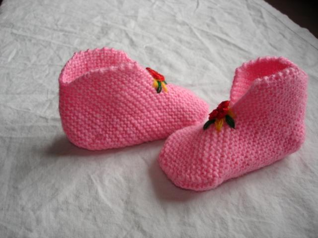 我的手工制作-婴儿鞋(新上鞋样了)_编织人生论坛图片