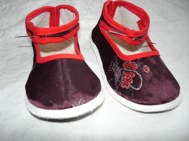 我的手工制作--婴儿鞋(新上鞋样了)
