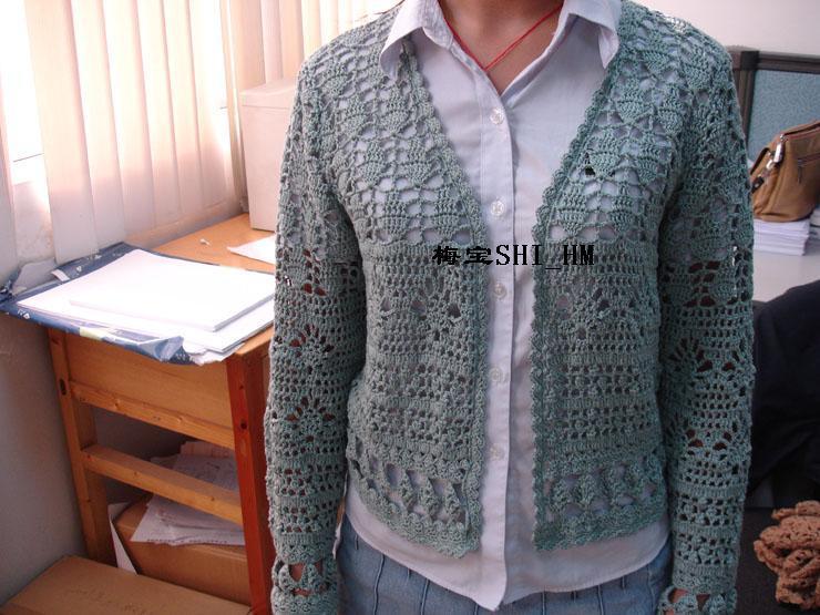青水绿绢棉长袖