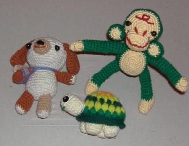 我的几个玩偶