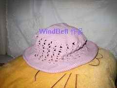一个棉线帽子
