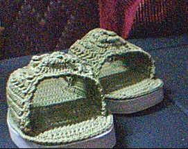 蝴蝶花拖鞋