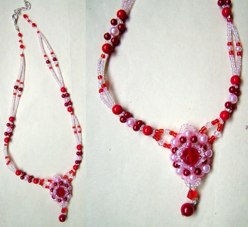 大红串珠链2