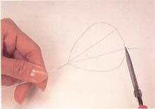 5. 剪掉多余的线头。
