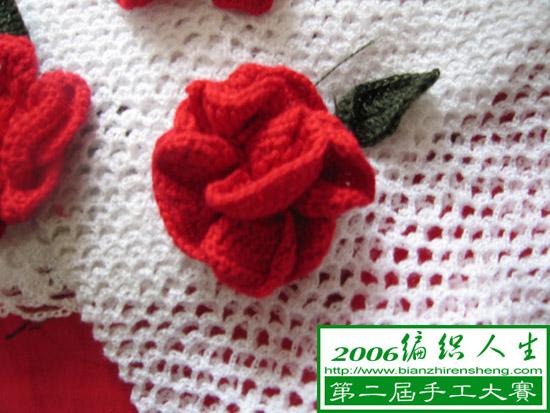 玫瑰花朵图样