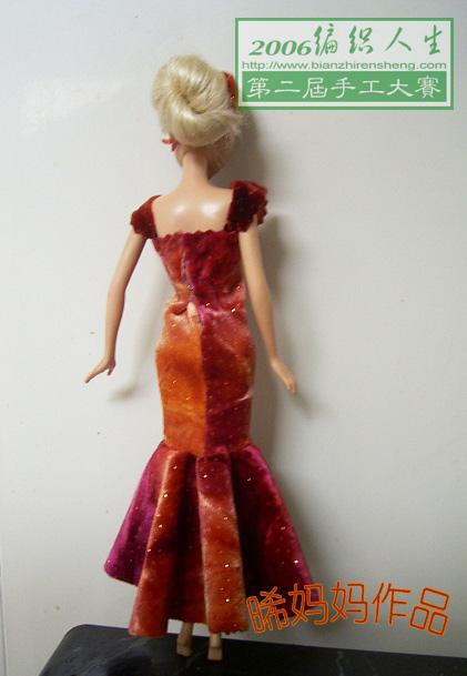 娃娃腰太细,腰部弄不太平