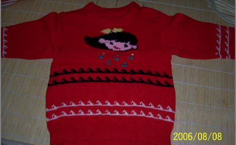 提花毛衣2