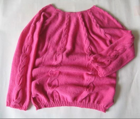 最新织成品--------平领毛衣