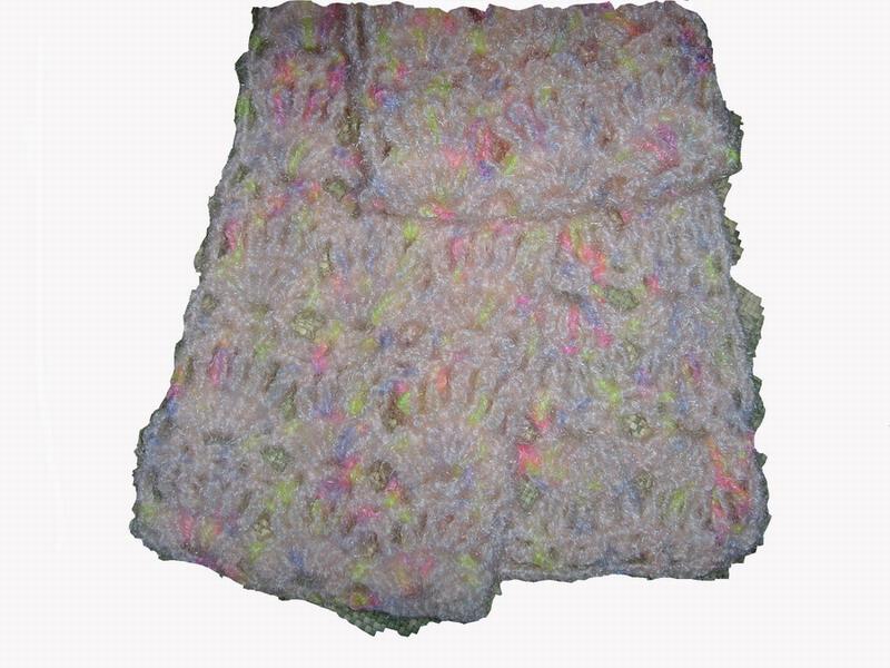 围巾细节图
