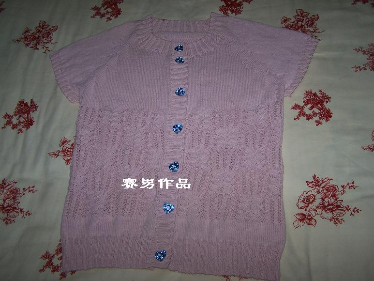 感冒期间完成的,感冒真难受啊!线是巫婆家的3股圆棉,大概用了4两。