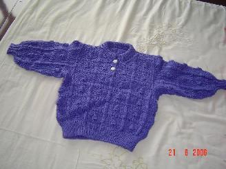 一岁时织的衣服宝宝五岁穿正合适