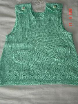 绿色小裙(现在变成背心了)
