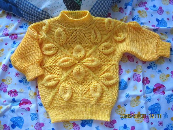 黄色小毛衣