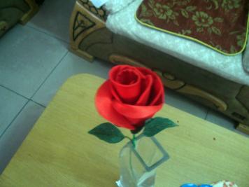 按教程做的玫瑰
