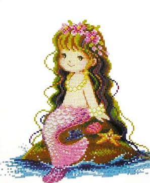可爱的小美人鱼:)
