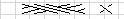这个图是8针的辫子针,我找不到合适的符号,呵呵