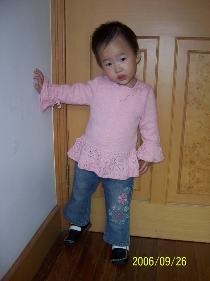 我女儿,三岁,这张是最真实的颜色