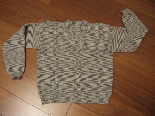 几年前给老公儿子织的衣衣,儿子的已经小了,已经有人来要了。