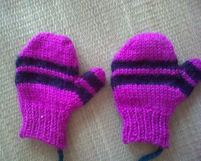 这是妈妈给我儿子织的