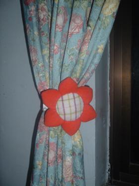 向晶葵窗帘环