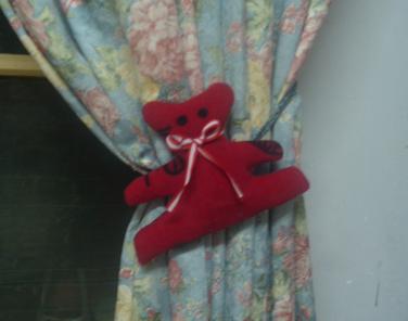 小熊窗帘环