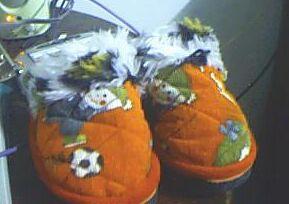 儿子的拖鞋