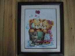 这个作品是我在杭州买的第一个,是配的DOME线,被宰了,花了100多块,心痛