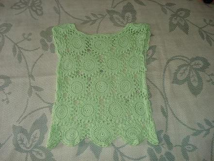女儿的绿色小衣衣