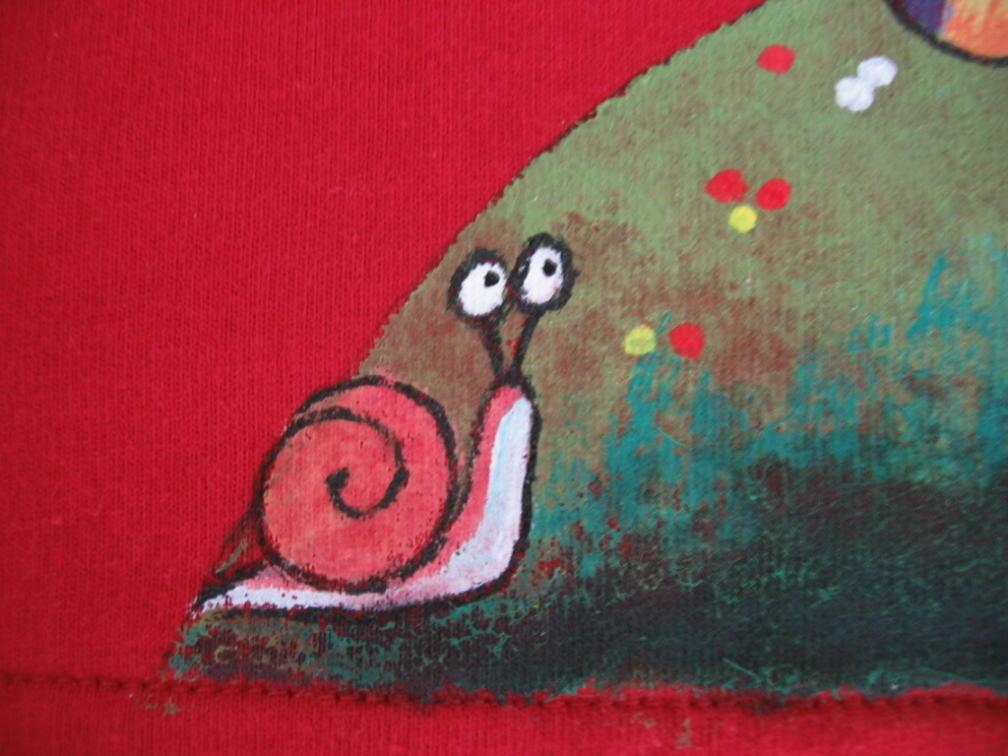 还有一只可爱的小蜗牛