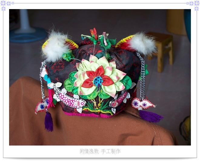 民间传统婴儿帽