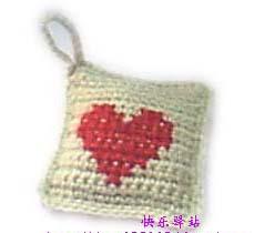 看看吧,我自己做的哦.红心是用十字绣的方式绣上去的