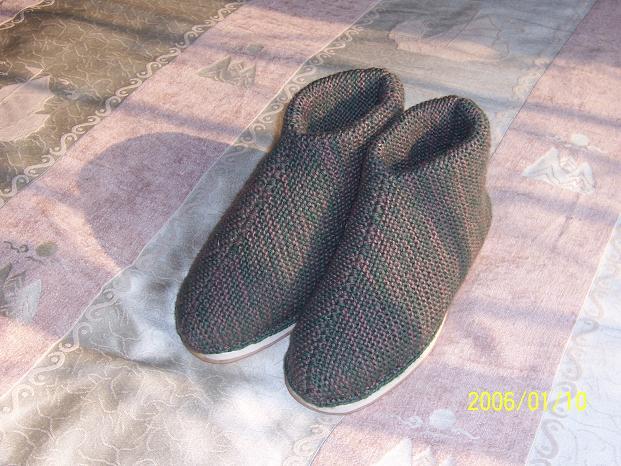 老爸的棉鞋