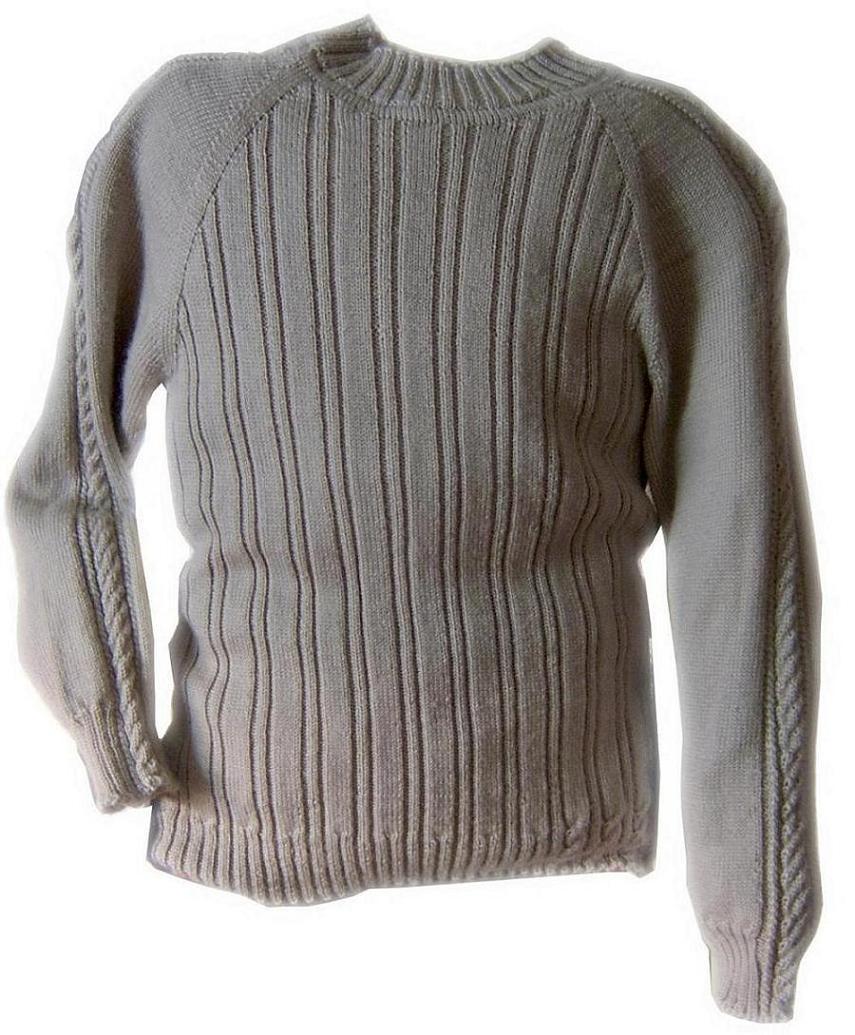 给儿子织的细绒毛衣:324针
