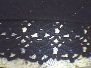 这是下摆钩织的花形