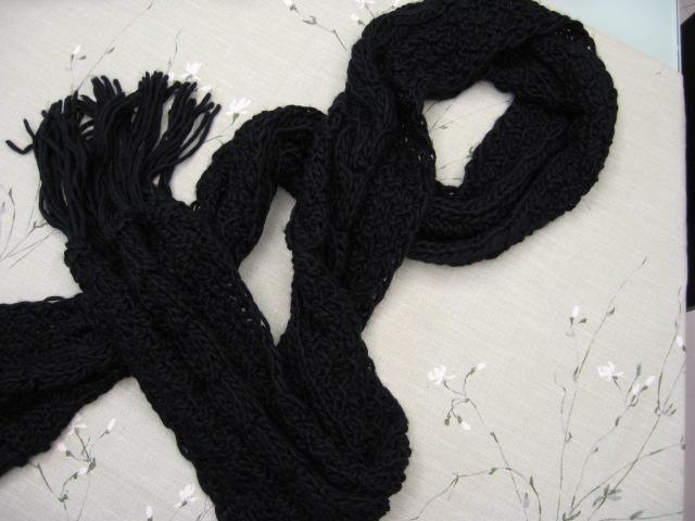 老公的超长围巾