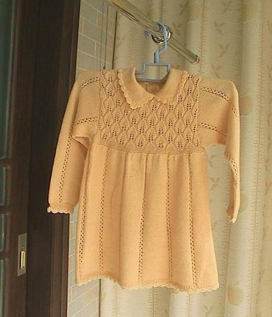 给小外甥女的黄色小裙裙