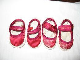 布艺小鞋子