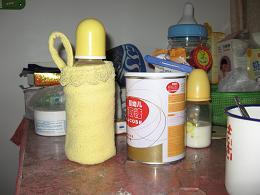旧衣服改的奶瓶保温袋