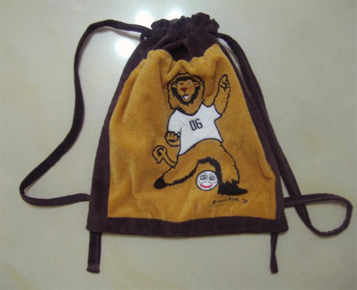 狮子背包(做给同学的儿子,只有1岁半)