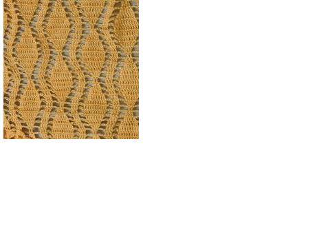 寻围巾的图片….花样像一片片叶子的长方形围巾