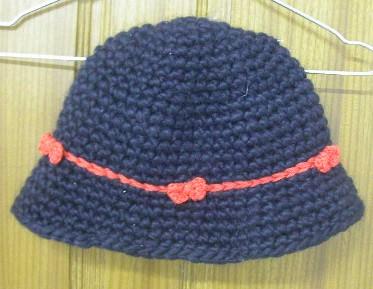 粗线钩的帽子