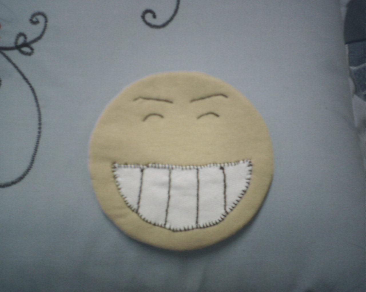 杯垫-QQ表情大笑