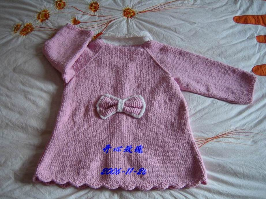 毛巾线小大衣(背面)