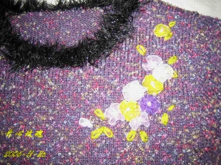 峰林阁的丝带绣花
