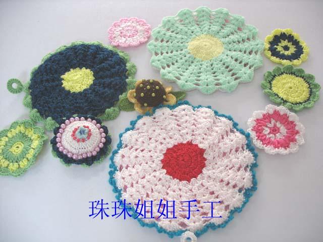 餐桌上的花花垫