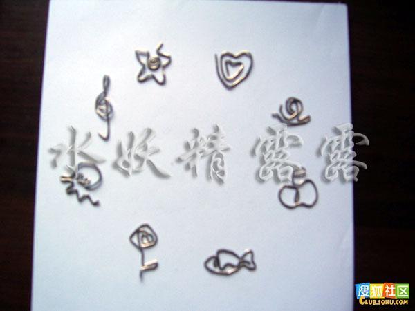 欣赏一下其他的作品:星星,桃心,蜗牛,苹果,小鱼,小花,章鱼,音符;再做4个,就可以做一个钟面了!