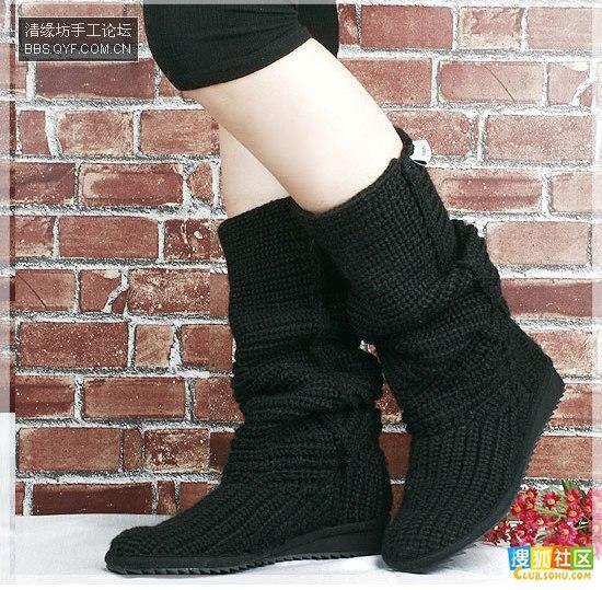漂亮的编织鞋子哪位巧手姐妹会编啊?