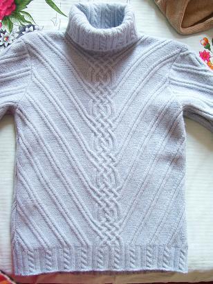 婆婆给我织的